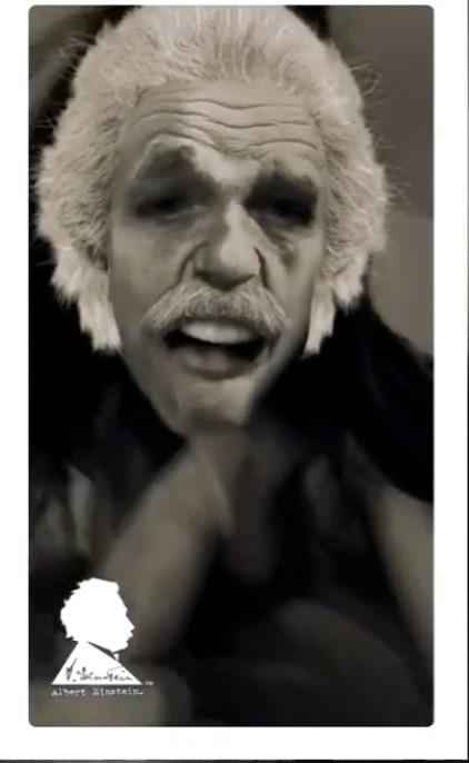 se faire sucer la bite par Einstein