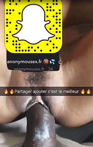 Vidéo snap d'un membre grosse bite de black