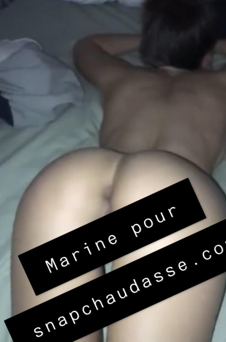 Marseillaise sexy se trémousse sur snap