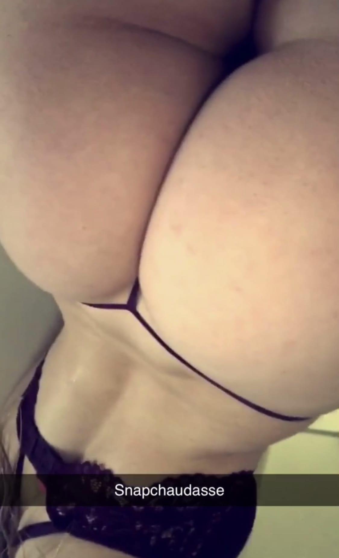 Snap d'un cul en string mega sexy  !